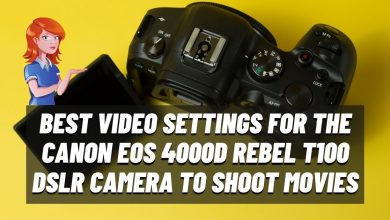Photo of Greatest Video Settings for your Canon EOS 4000D Rebel T100 DSLR Digital camera to Shoot Movies