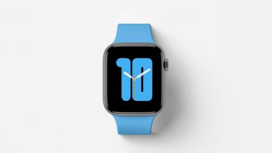 Photo of Apple Watch Series 5 Top View Mockup Download