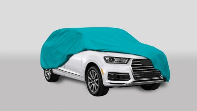 Photo of Car Cover Mockup Download