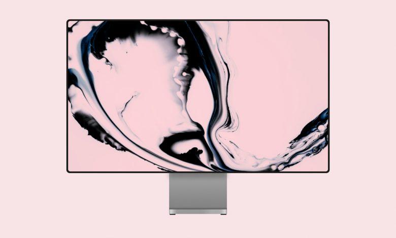 Clean Apple Pro Display XDR Mockup