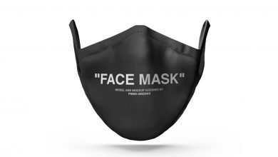 Photo of Corona Face Mask Mockup Set Download