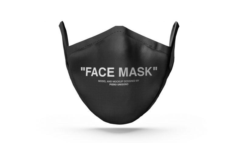 Corona Face Mask Mockup Set