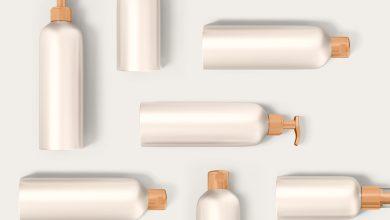 Photo of Cosmetic Plastic Bottles Mockup Download