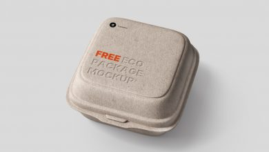 Photo of Eco Food Packaging Mockup Download