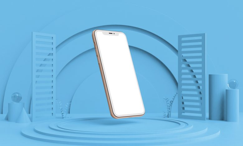 Floating iPhone Mockup Generator