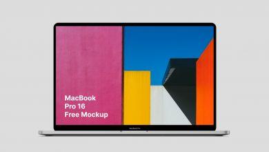 Photo of MacBook Pro (16 Inch) Mockup Download