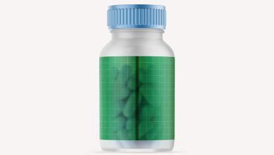 Photo of Plastic Pills Bottle Mockup Download