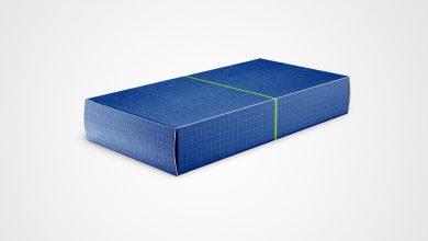 Photo of Slim Carton Box Mockup Download