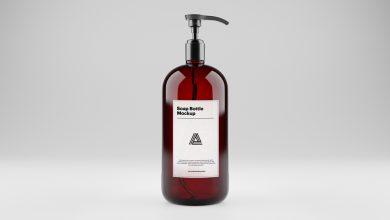 Photo of Soap Dispenser Mockup Download