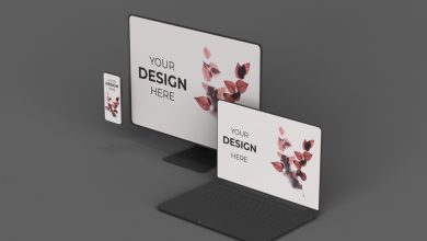 Photo of Stylized Apple Devices Mockup Download