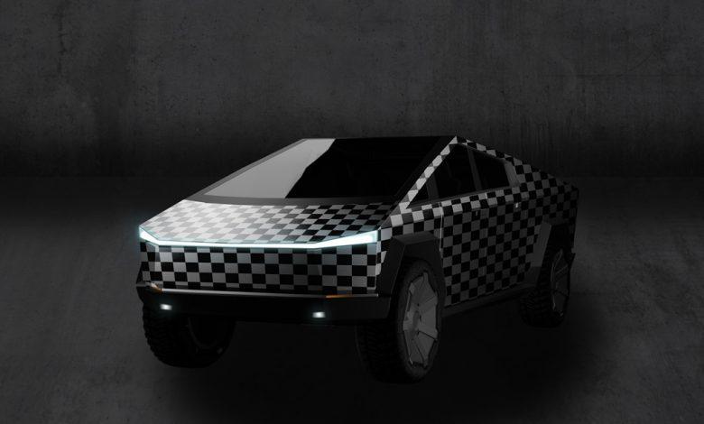 Tesla Cybertruck Mockup Bundle
