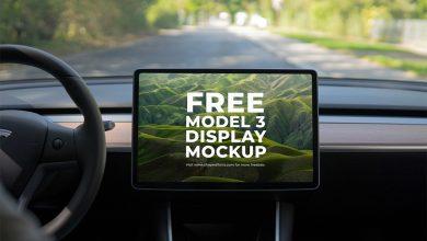Photo of Tesla Model 3 Display Mockups Download