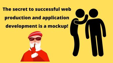 Photo of The secret to successful web production and application development is a mockup!
