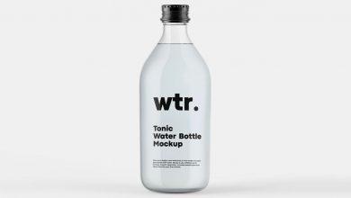 Photo of Tonic Water Bottle Mockup Download