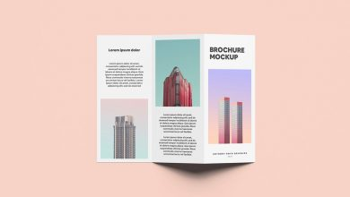 Photo of Two-fold Brochure Mockup Download
