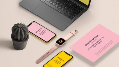 Photo of UI Showcase with Apple Devices Mockup Download