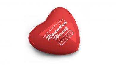 Photo of Valentine Heart Mockup Download