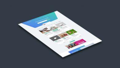 Photo of Website Showcase Mockup Download