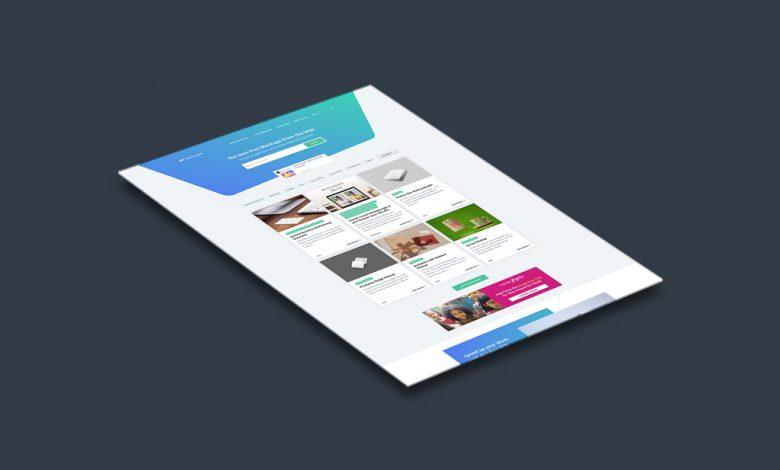 Website Showcase Mockup