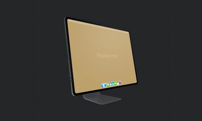iMac Pro Concept Mockup