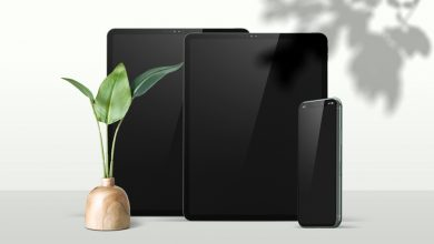 Photo of iPad Pros with iPhone Mockup Download