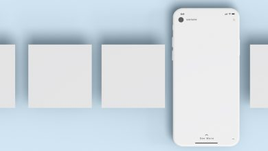 Photo of iPhone with extra Screens Mockup Download